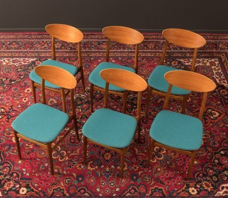 Set of 6 dining chairs from Germany, 1960s