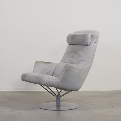 Scandinavian design swivel armchair from Kenneth Bergenblad for Dux