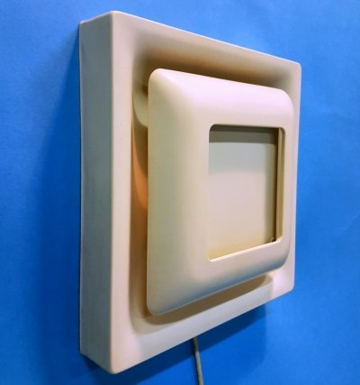 Minimalist square sconce by Doria leuchten, Germany 1960s