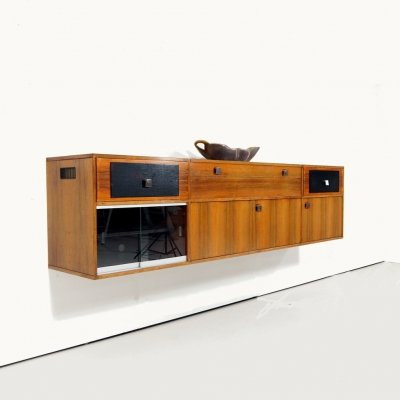 1960's rosewood floating sideboard