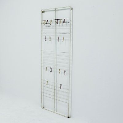 Large Wall Mounted coat Rack by Coen de Vries for Devo, 1950s