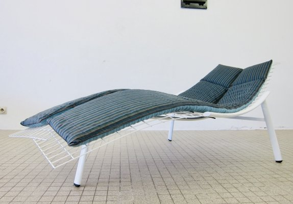 Vintage Saporiti 'Swing' chaise longue by Giovanni Offredi, 1979