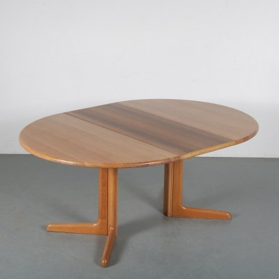 1960s Single extendable dining table by Niels Otto Møller for Gudme Mobler, Denmark