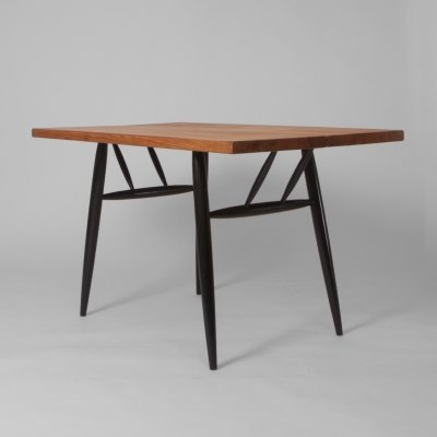 Pirkka dining table by Ilmari Tapiovaara, 1950s