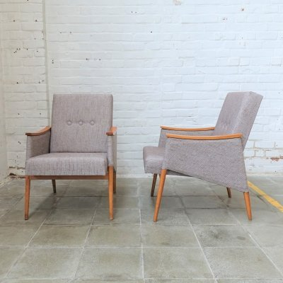 Set of 2 midcentury Tailfinn chairs, 1960s