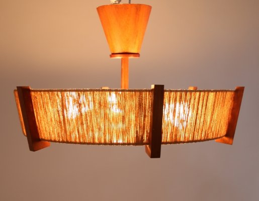 Ceiling light by Temde Leuchten, 1960s