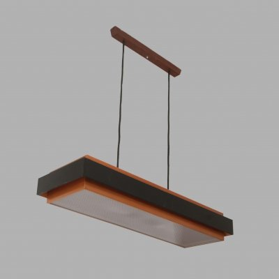 'Dano Rectangular' pendant lamp by ​Jo Hammerborg for Fog & Mørup