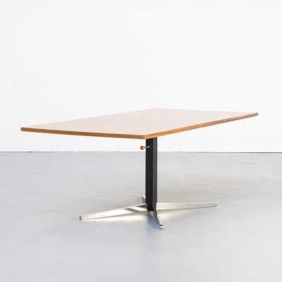 60s Walter Wirz adjustable coffee table for Wilhelm Renz