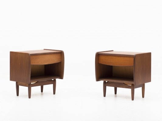 Set of 2 night stands by Louis Van Teeffelen for Wébé