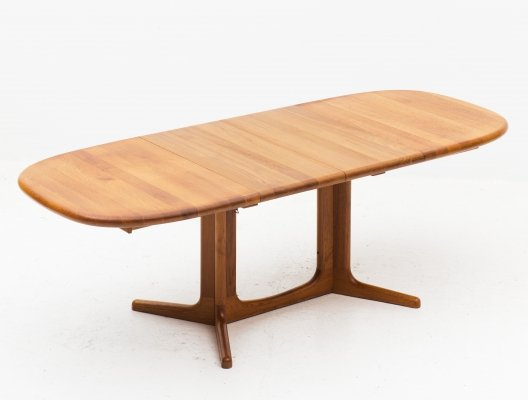 Extendable dining table by Glostrup, 1950s