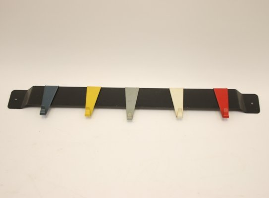 Wall coat rack by Coen de Vries for Pilastro, 1960s
