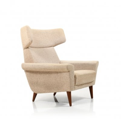 Mid Century Danish Prototype Lounge Chair (Ox-Chair) by Fredericia Møbler