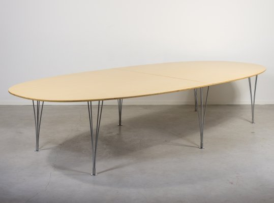 Superellips Dining Table by Piet Hein & Bruno Mathsson for Mathsson International