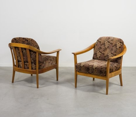Set of two Mid-Century armchairs by Wilhelm Knoll, 1960s