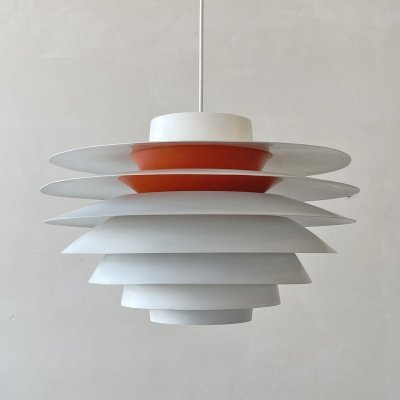 Verona hanging lamp by Sven Middelboe for Nordisk Solar, 1960s