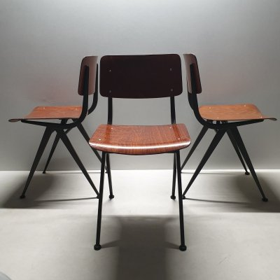Industrial pagwood chair model 202 by Marko, 1960s
