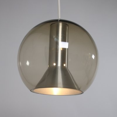 3 x Globe hanging lamp by Frank Ligtelijn for Raak Amsterdam, 1960s