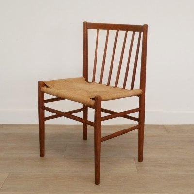 J80 Chair by Jørgen Baekmark voor FDB Møbler, 1960s