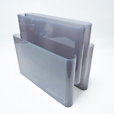Model 4675 magazine holder by Giotto Stoppino for Kartell, 1970s
