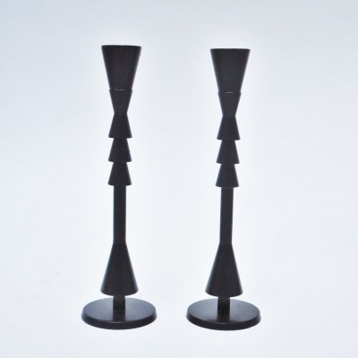 Candleholder by Ugo La Pietra for Arser, 1980s