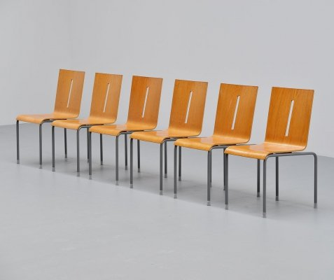 Set of 6 Richard Hutten Hopper chairs, Holland 1998