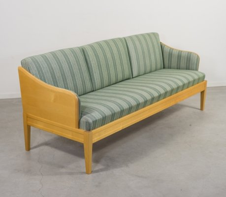 Elegant Carl Malmsten three seats sofa 'Gustavus'