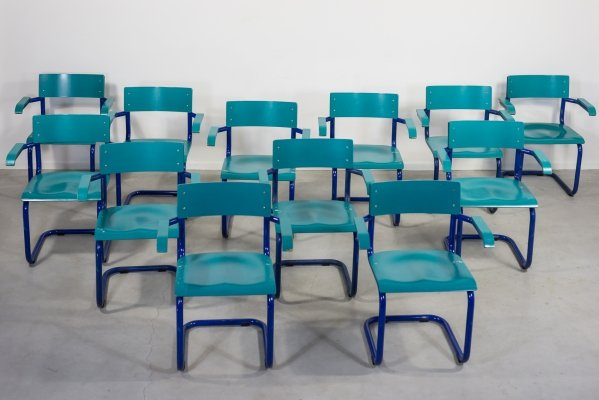 Old school industrial design Danish chairs from the 1970's