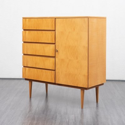 Small 1950s highboard in maple