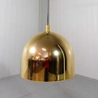 Brass Hanging Lamp by Staff, 1960's