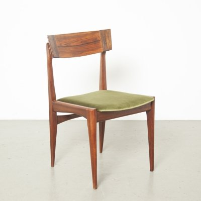 Green Dining room chair by Louis van Teeffelen for AWA, 1960s