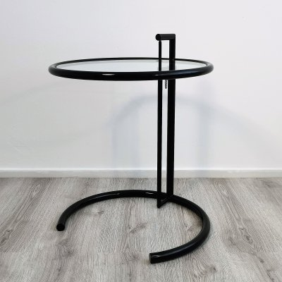 Adjustable E 1027 Side Table by Eileen Gray