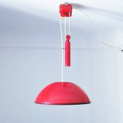 2 x Relemme hanging lamp by Achille Giacomo Castiglioni for Flos, 1970s