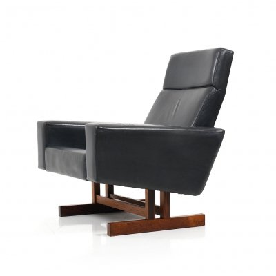 Mid Century Danish Prototype Lounge Chair with Tilt Function by Fredericia Møbler