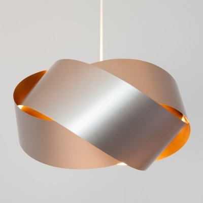 Endless Ribbon Lamp from Denmark, 1970s