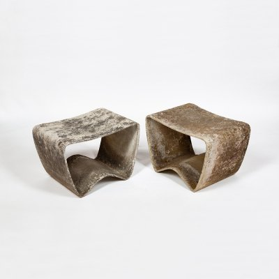 Pair of stools by Ludwig Walser, 1959