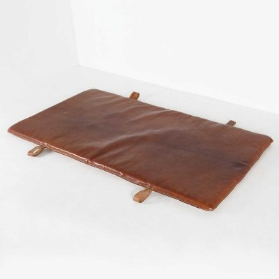 Leather gym mat, Belgium 1930s
