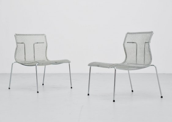 Pair of Niall O'flynn Rascal easy chairs for 't Spectrum, 1997