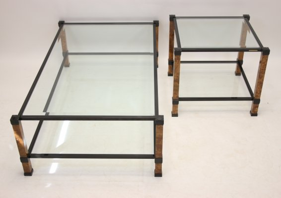 Pierre Vandel Paris Coffee table & side table, 1970s