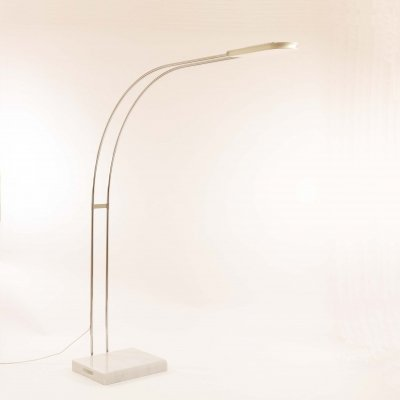 White Gesto floor lamp by Bruno Gecchelin for Skipper