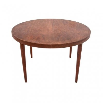 Extendable Danish Design Dining Table in Rosewood, 1960s