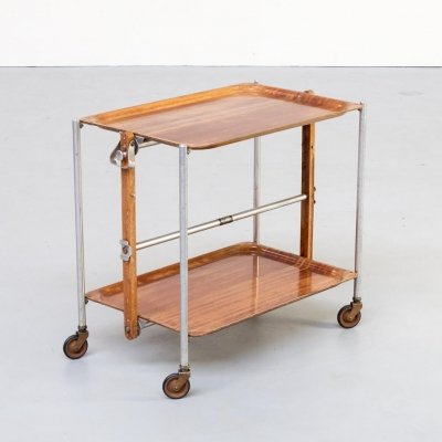 1st edition serving trolley by Textable, 1950s