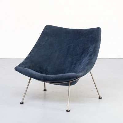 50s Pierre Paulin 'Oyster F157' lounge chair for Artifort