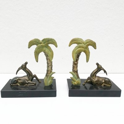 Pair of Art Deco bookends, 1930s