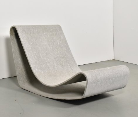 Loop lounge chair by Willy Guhl for Eternit SA, 1960s