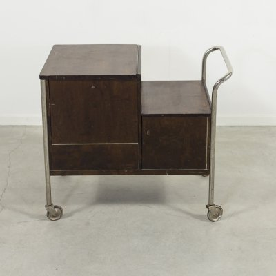 Art Deco serving trolley/bar cart, 1930's
