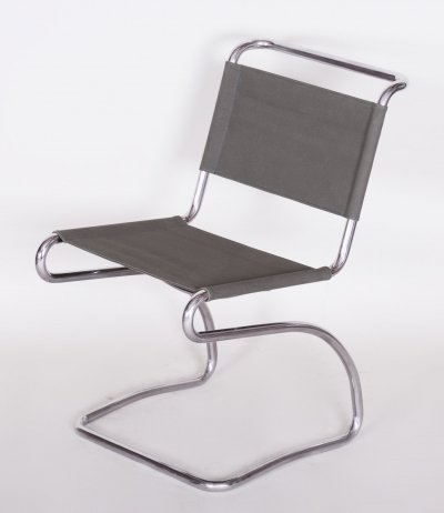 Vintage Bauhaus Chair Model H79 by Jindrich Halabala for UP Zavody, 1930-1939
