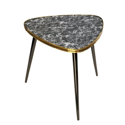 Mid century coffee table with grey top, Germany 1960s