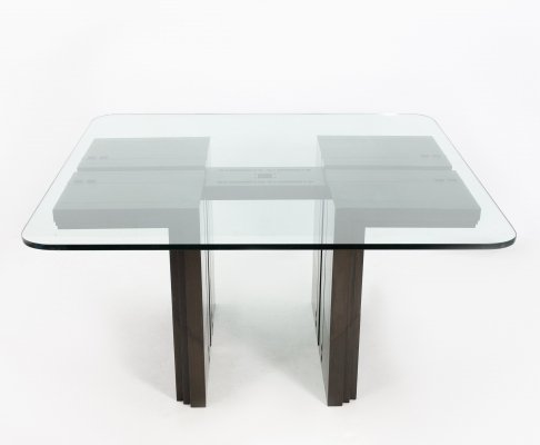 Dining table by Umberto Asnago for Giorgetti, 1980s