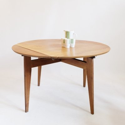 Marguerite dining table by Marcel Gascoin for Arhec, circa 1950