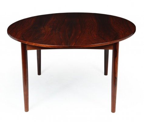 Mid Century Danish Rosewood Dining Table, 1960s